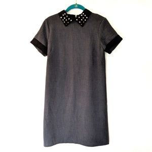 Maison Jules | Studded Collar Shift Dress